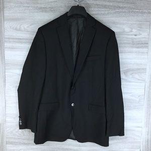 Calvin Klein Wool Black Suit Jacket